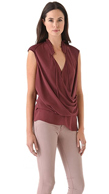 Helmut Lang Soft Shroud Top