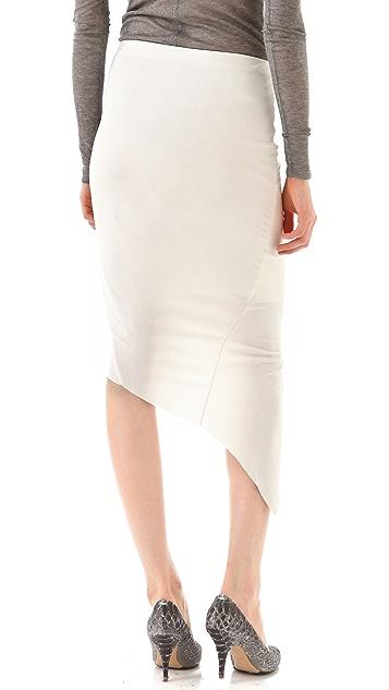 Helmut Lang Helix Asymmetrical Skirt