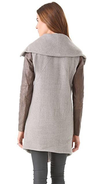 Helmut Lang Willow Shawl Neck Jacket