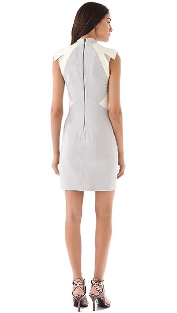 Helmut Lang Blistered Leather Dress