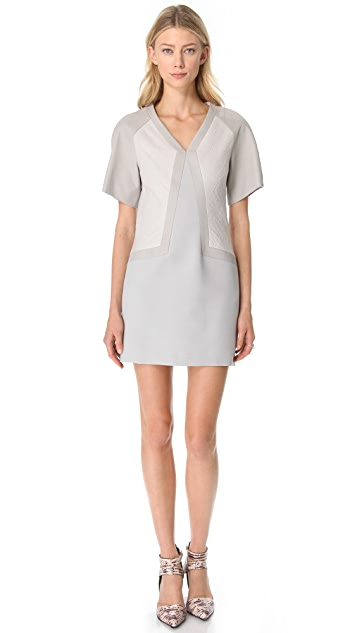 Helmut Lang Suiting Wide Sleeve Dress