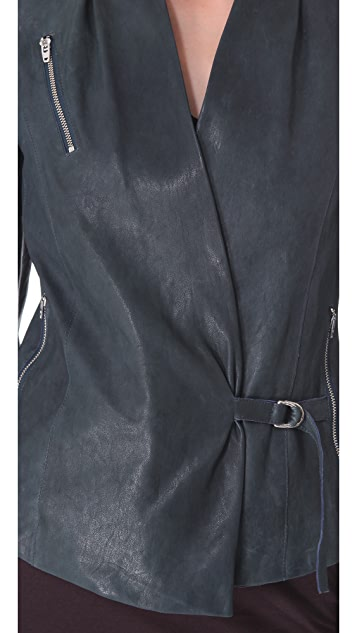 Helmut Lang Supple Leather Jacket