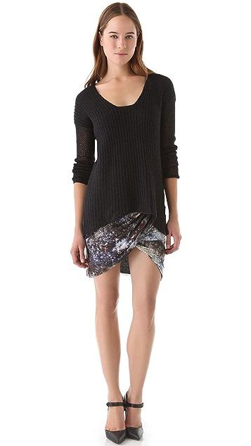 Helmut Lang Oxide Star Skirt