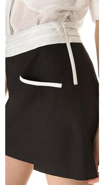 Helmut Lang Era Pocket Miniskirt