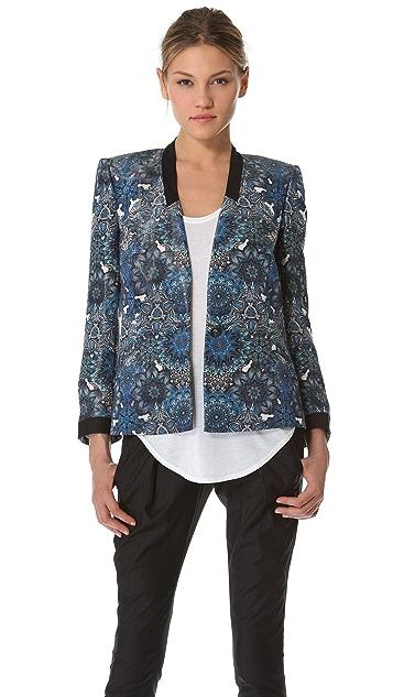 Helmut Lang Mandala Wet Print Jacket