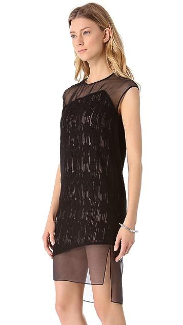 Helmut Lang Thread Stitch Dress