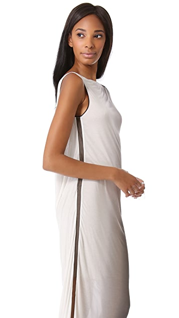 Helmut Lang Shadow Ombre Maxi Dress