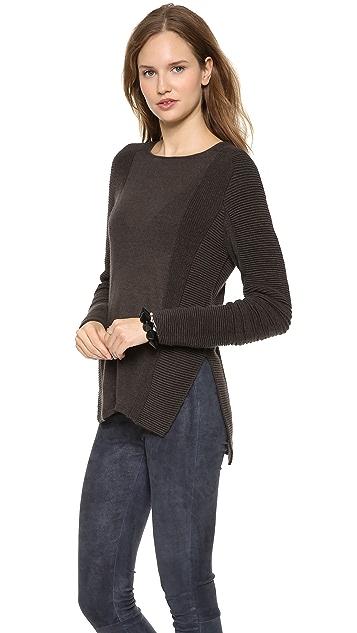 Helmut Lang Contoured Ridges Sweater