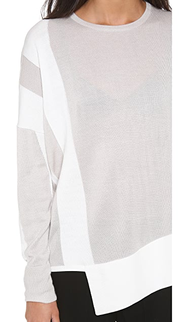 Helmut Lang Asymmetrical Pullover