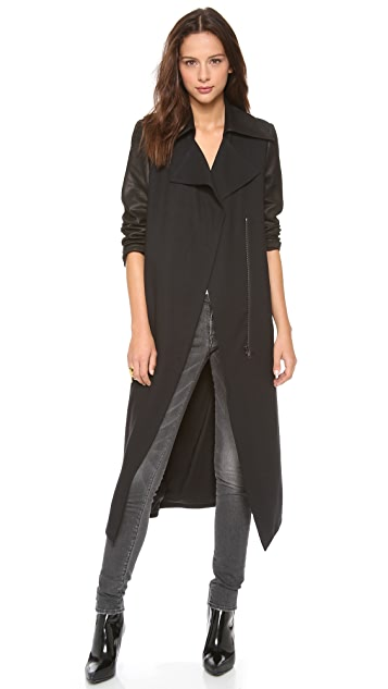 Helmut Lang Noa Long Coat