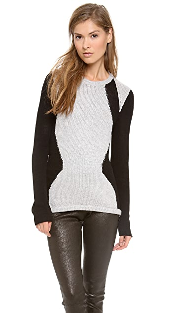 Helmut Lang Obstructed Borders Pullover