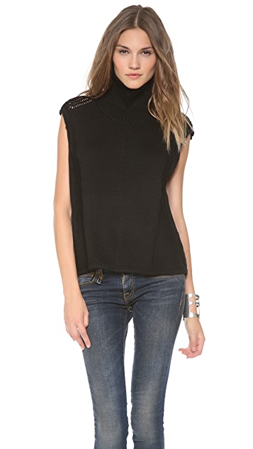 Helmut Lang Sleeveless Turtleneck