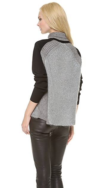Helmut Lang Textured Turtleneck