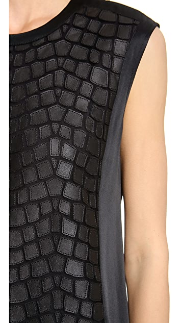 Helmut Lang Fractal Mini Dress