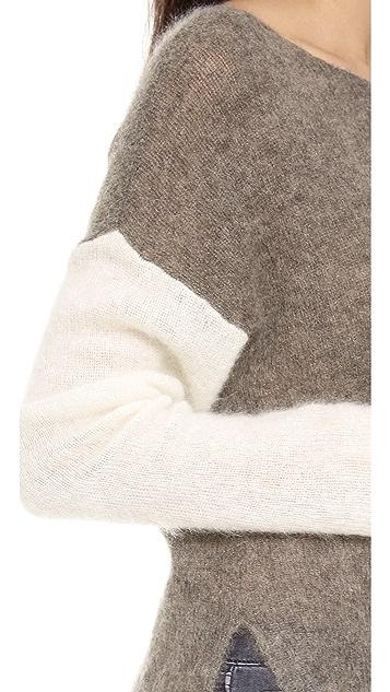 Helmut Lang Brushed Alpaca Pullover