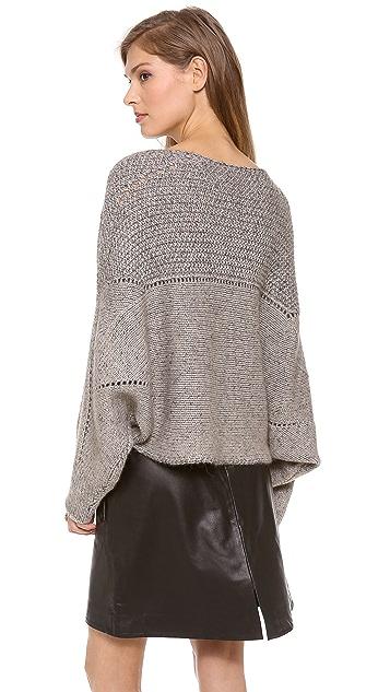 Helmut Lang Polar Knit Crop Sweater