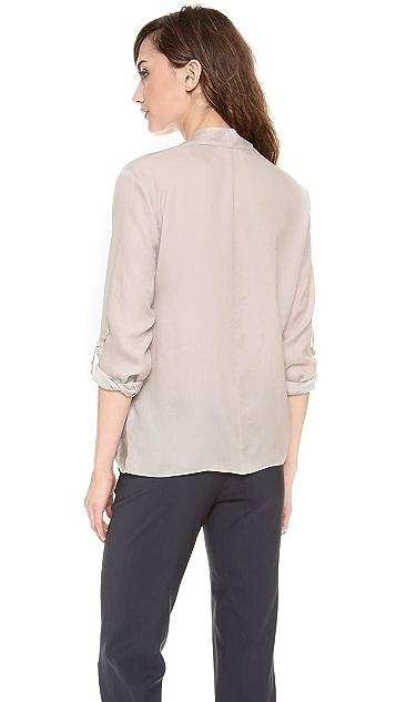 Helmut Lang Render Drape Shirt