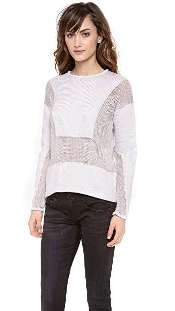 Helmut Lang Inverse Texture Pullover
