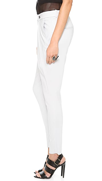 Helmut Lang Folded Waistband Pants