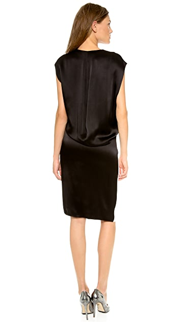 Helmut Lang Contrast Dress