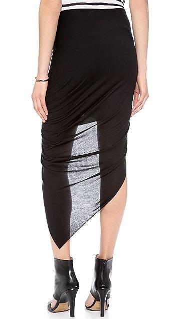 Helmut Lang Asymmetrical Wrap Skirt