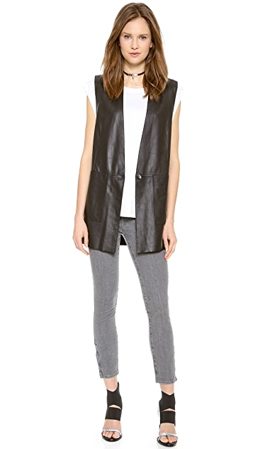 Helmut Lang Sleeveless Top