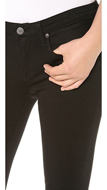 Helmut Lang Cropped Skinny Jeans