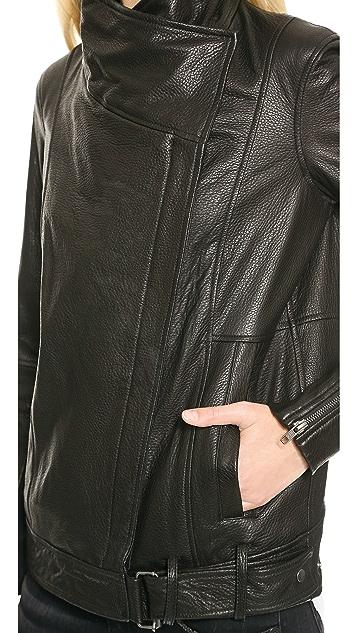 Helmut Lang Cluster Leather Moto Jacket