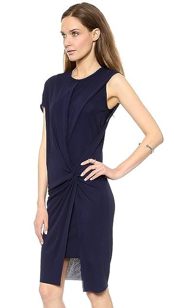 Helmut Lang Deep Twist Dress