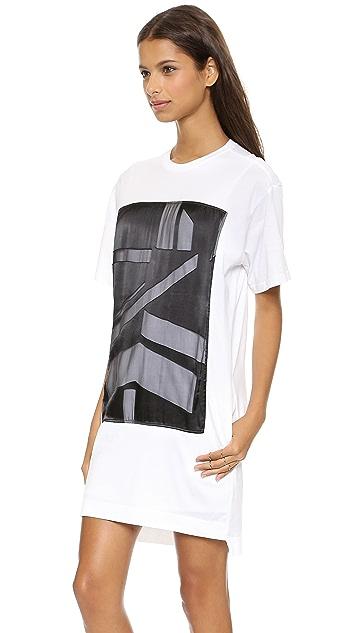 Helmut Lang T-Shirt Dress