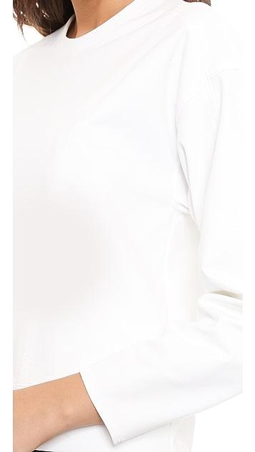 Helmut Lang Crop Pullover