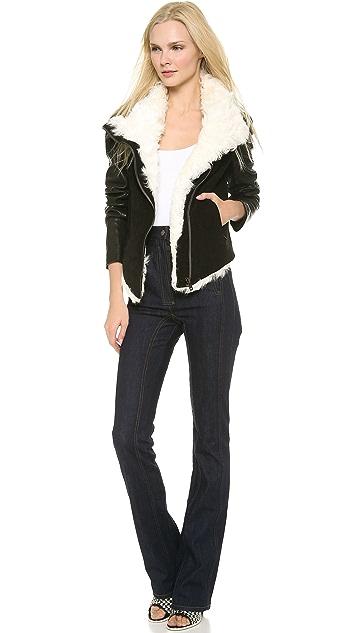 Helmut Lang Chasm Shearling Jacket
