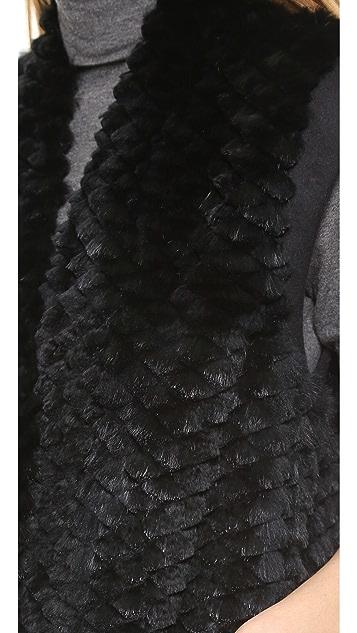 Helmut Lang Pike Fur Vest