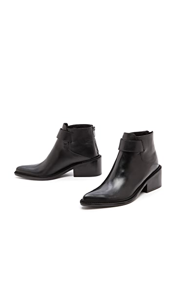 Helmut Lang Point Toe Booties