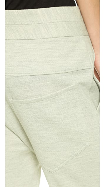 Helmut Lang Slouchy Crop Pants