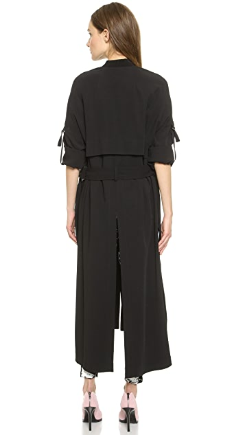 Helmut Lang Long Trench Coat