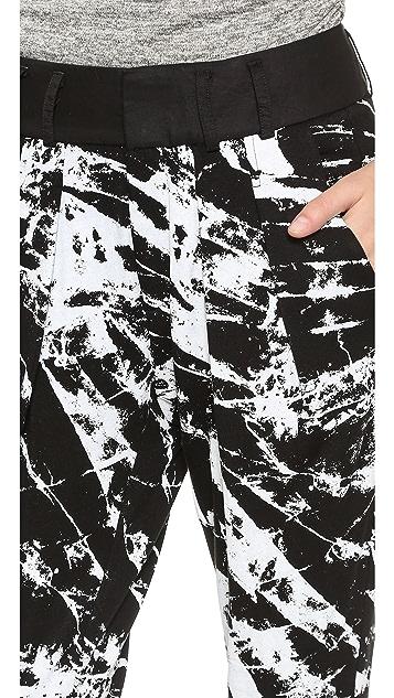 Helmut Lang Tera Print Sweatpants