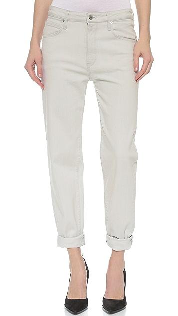Helmut Lang Tone Wash Boyfriend Jeans ...