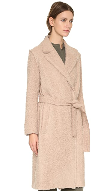 Helmut Lang Shaggy Coat