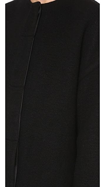 Helmut Lang Oversized Cashmere Coat
