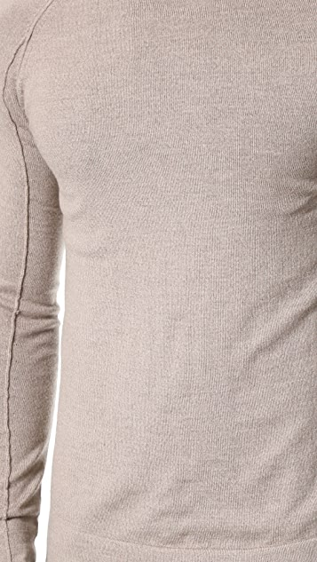 Helmut Lang Fine Wool Crew Neck Sweater