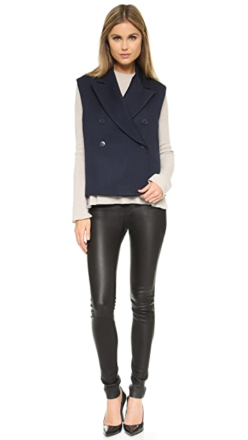 Helmut Lang Double Breasted Vest
