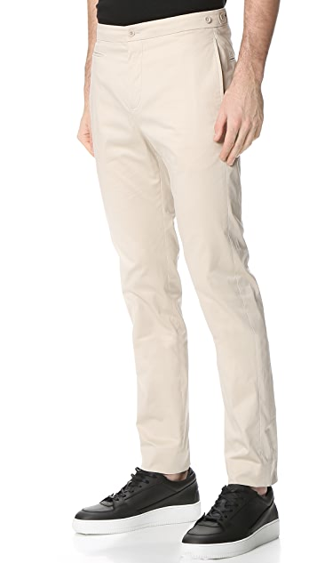 Helmut Lang Sateen Suiting Slim Trousers