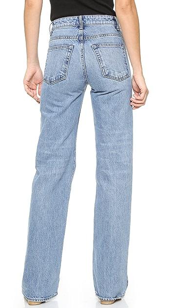 Helmut Lang No Pocket High Rise Jeans