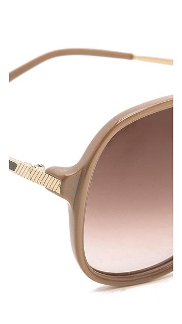 Heidi London Oversized Aviator Sunglasses