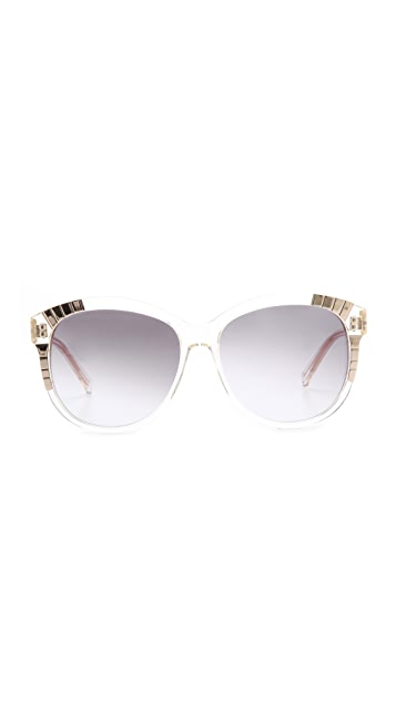 Heidi London Oversized Cat Eye Sunglasses