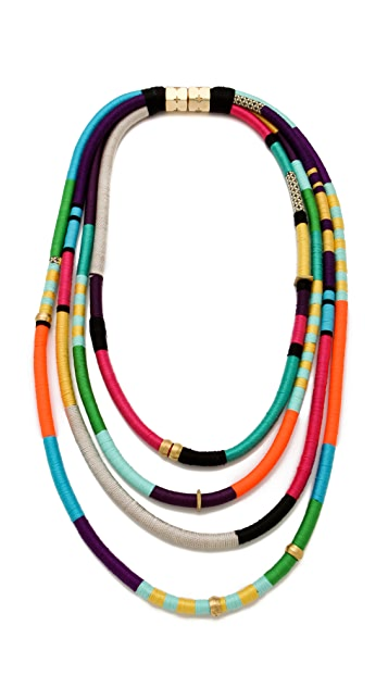 Holst + Lee Four Strand Necklace