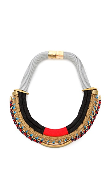 Holst + Lee The Barbarian Plate Necklace