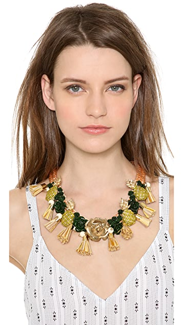 Holst + Lee Pineapple Princess Necklace