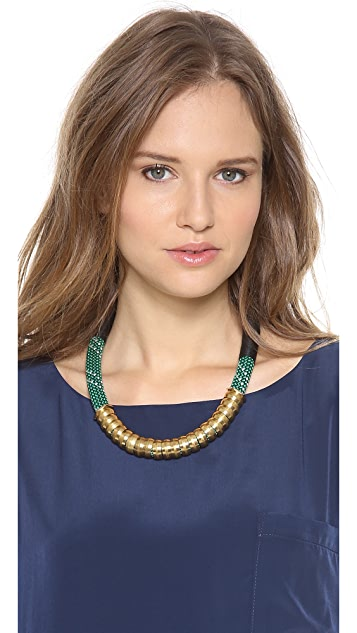 Holst + Lee Shanghai Colorblock Necklace